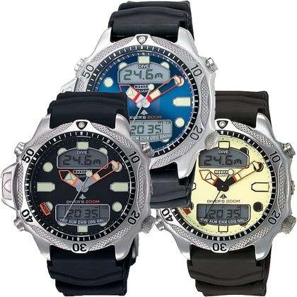 Citizen Promaster Aqualand JP1010-00 Watch Strap Black - 20mm