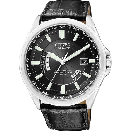 Citizen Eco-Drive Radio Controlled CB0010-02E Watch Strap 23mm