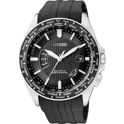 Citizen Eco-Drive Radio Controlled CB0021-06E Watch Strap 23mm