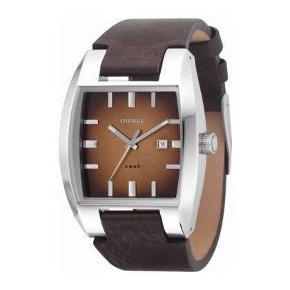 Diesel DZ1175 Watch Strap Brown Leather