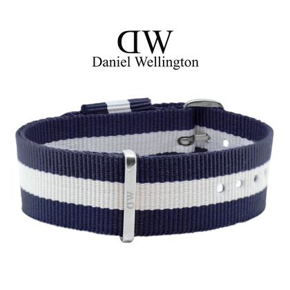 Daniel Wellington 20mm Classic Glasgow NATO Watch Strap Steel-Buckle