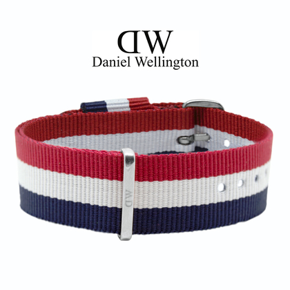 Daniel Wellington 20mm Classic Cambridge NATO Watch Strap Steel Buckle