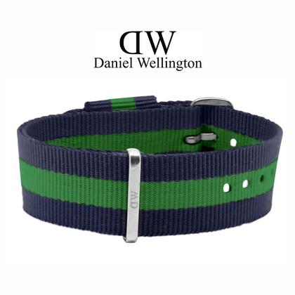 Daniel Wellington 20mm Classic Warwick NATO Watch Strap Steel Buckle