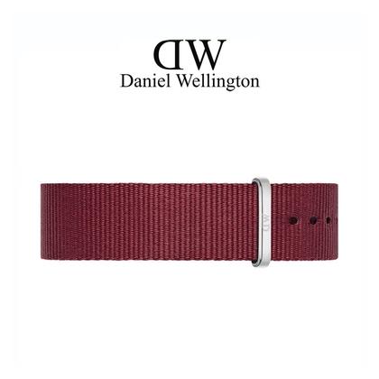 Daniel Wellington 20mm Classic Roselyn NATO Watch Strap Stainless Steel Buckle