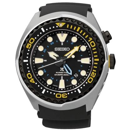 Seiko Prospex Watch Strap SUN021P1 Black Rubber