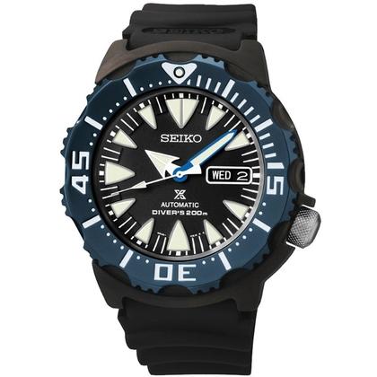 Seiko Prospex Watch Strap SRP581 Black Rubber