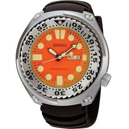 Seiko Sawtooth Watch Strap SHC067 SHC059 Black Rubber