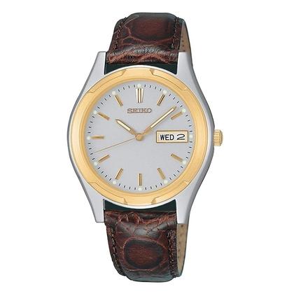 Seiko Watch Strap SGF578 Brown Leather