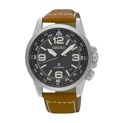 Seiko Prospex Watch Strap SRPA75K1 Brown Leather