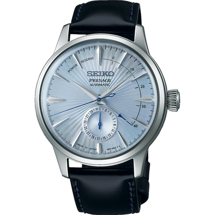 Seiko Presage Watch Strap SSA343 Black Leather