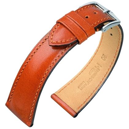Hirsch Siena Artisan Watch Band Golden Brown